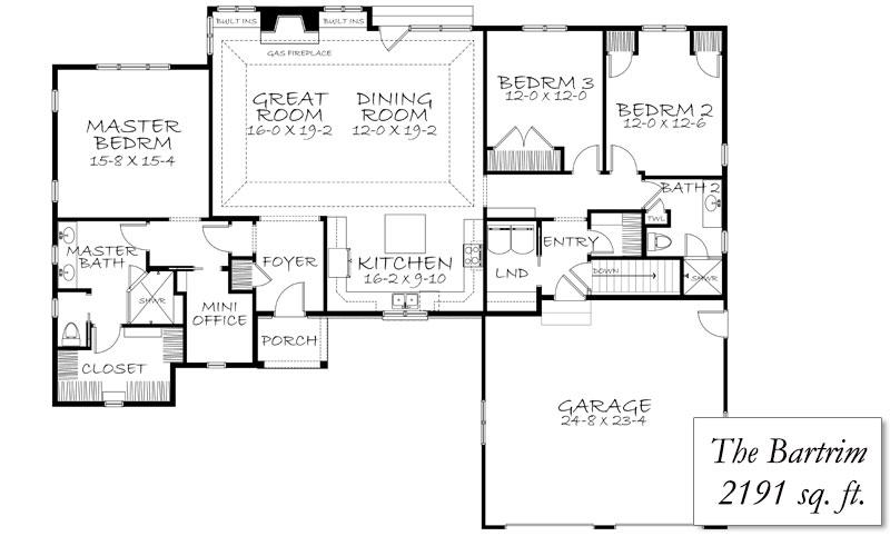 ranch floor plans with 2 car garage floor home plans ideas