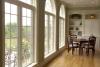 open floor plan, window design
