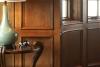 english panelling, custom home interior design