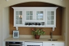 traditional built-in hutch style design