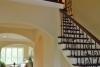 transitional foyer design