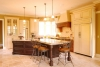 traditional mix of finishes kitchen design