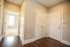 back hall, hardwood flooring, new house in pittsford