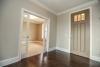 Foyer, hardwood floors, flex room with pocket glass doors, new home in Pittsford