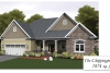 Chippington-Model Home Watercolor Rendering