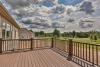deck, beautiful view, custom building on a lot with a builder, pittsford