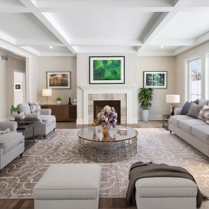 4 Tor Hill - Living Area